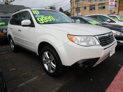 2010 Subaru Forester for sale at M & R Auto Sales INC. in North Plainfield NJ