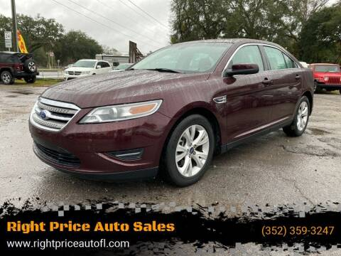 2011 Ford Taurus for sale at Right Price Auto Sales-Gainesville in Gainesville FL