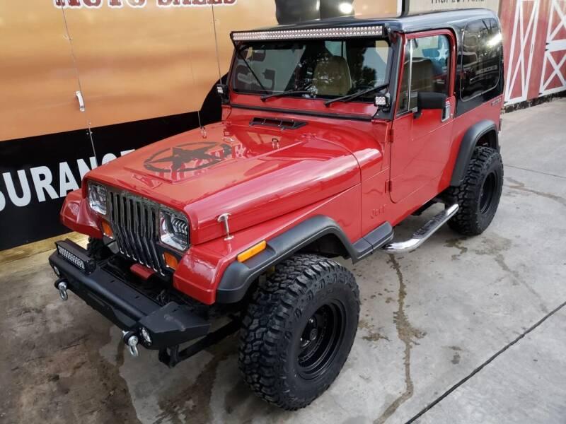 1987 Jeep Wrangler for sale at Cowboy's Auto Sales in San Antonio TX