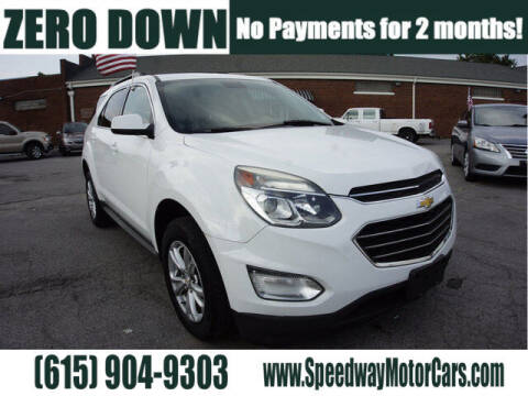 2016 Chevrolet Equinox for sale at Speedway Motors in Murfreesboro TN