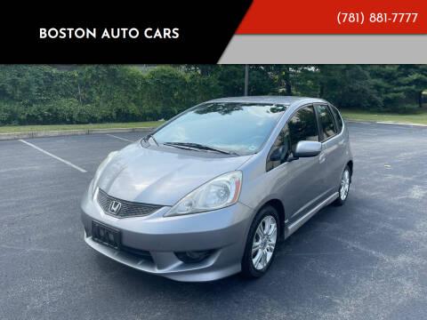 2009 Honda Fit for sale at Boston Auto Cars in Dedham MA
