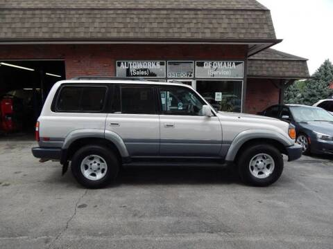 1995 Toyota Land Cruiser for sale at AUTOWORKS OF OMAHA INC in Omaha NE