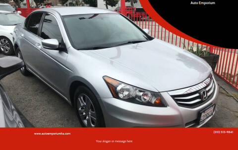 2011 Honda Accord for sale at Auto Emporium in Wilmington CA