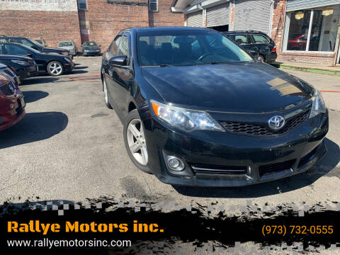 2014 Toyota Camry for sale at Rallye  Motors inc. in Newark NJ