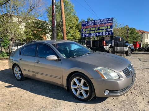 2004 Nissan Maxima for sale at C.J. AUTO SALES llc. in San Antonio TX