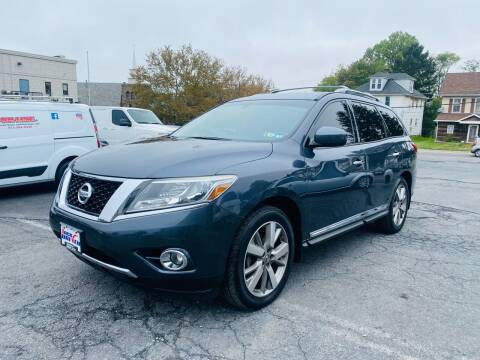 2014 Nissan Pathfinder for sale at 1NCE DRIVEN in Easton PA