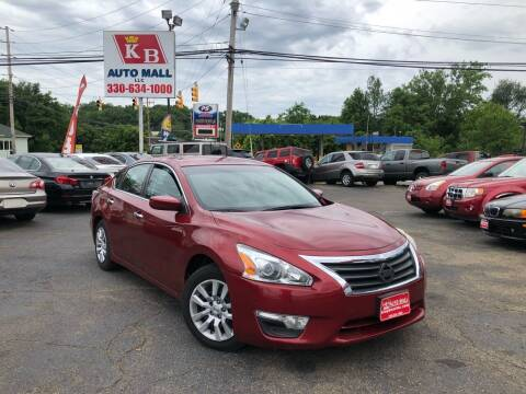 2015 Nissan Altima for sale at KB Auto Mall LLC in Akron OH