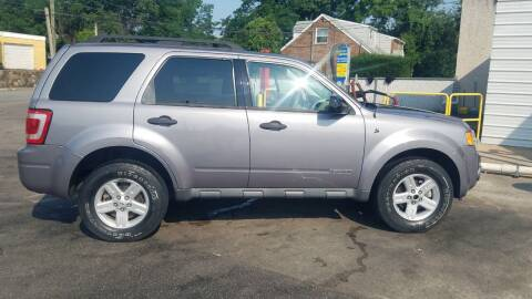 2008 Ford Escape Hybrid for sale at Bottom Line Auto Exchange in Upper Darby PA