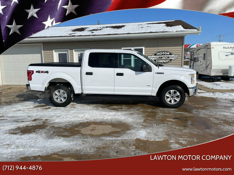 2017 Ford F-150 for sale at Lawton Motor Company in Lawton IA