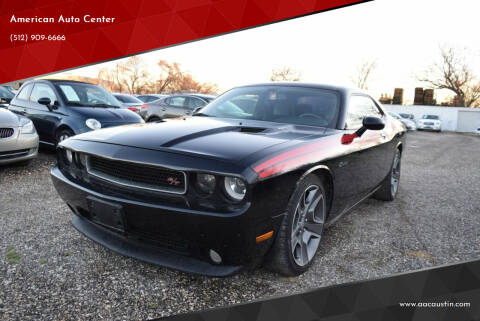 2012 Dodge Challenger for sale at American Auto Center in Austin TX