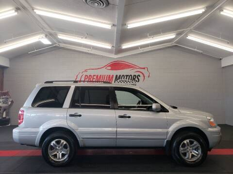 2003 Honda Pilot for sale at Premium Motors in Villa Park IL