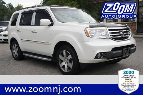 2014 Honda Pilot for sale at Zoom Auto Group in Parsippany NJ