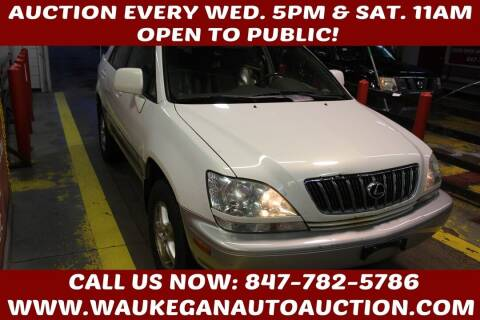 2001 Lexus RX 300 for sale at Waukegan Auto Auction in Waukegan IL