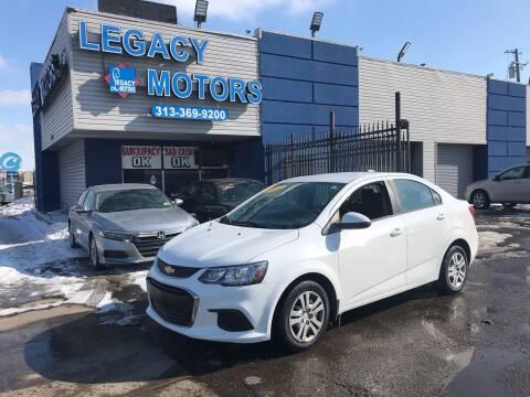 2017 Chevrolet Sonic for sale at Legacy Motors in Detroit MI