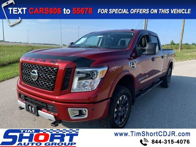 2016 Nissan Titan XD for sale in Morehead, KY