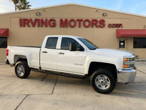 2017 Chevrolet Silverado 2500HD for sale at Irving Motors Corp in San Antonio TX