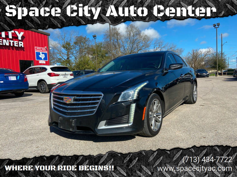 2017 Cadillac CTS for sale at Space City Auto Center in Houston TX