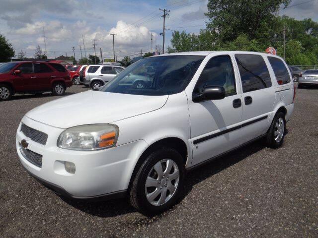 2008 Chevrolet Uplander for sale in Marion, OH
