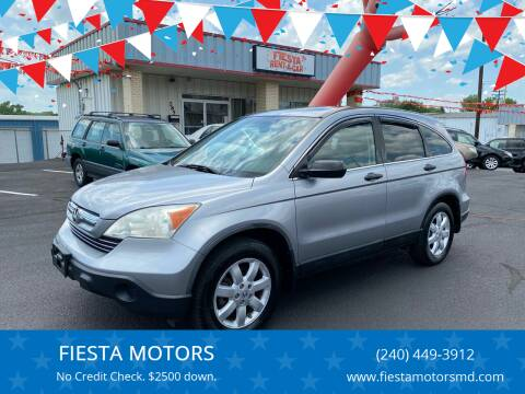 2008 Honda CR-V for sale at FIESTA MOTORS in Hagerstown MD