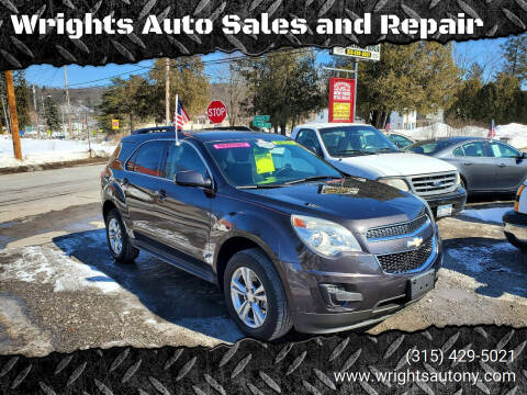2013 Chevrolet Equinox for sale at Wrights Auto Sales and Repair in Dolgeville NY
