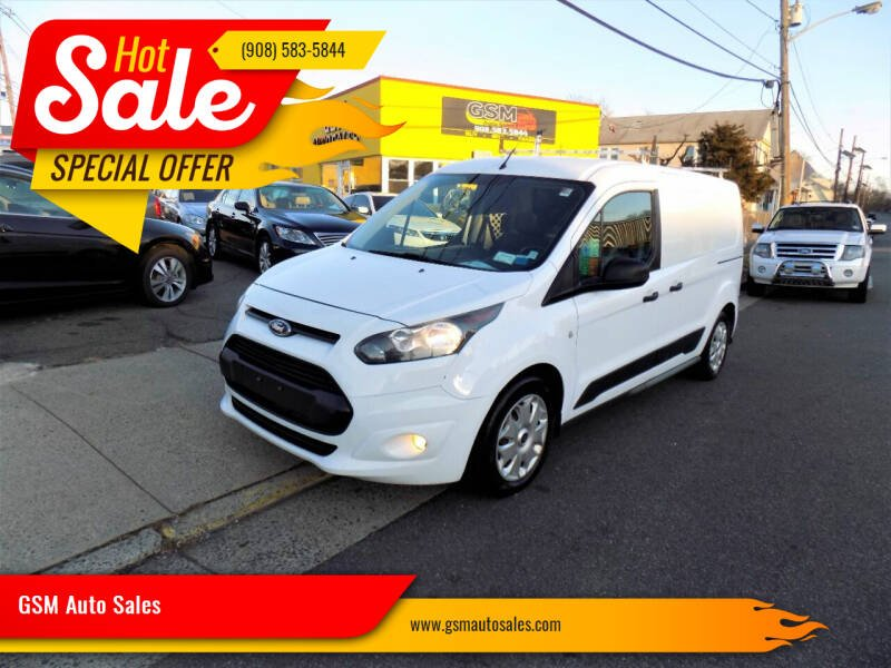 2015 Ford Transit Connect Cargo for sale at GSM Auto Sales in Linden NJ