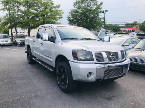 2005 Nissan Titan for sale at Carpro Auto Sales in Chesapeake VA