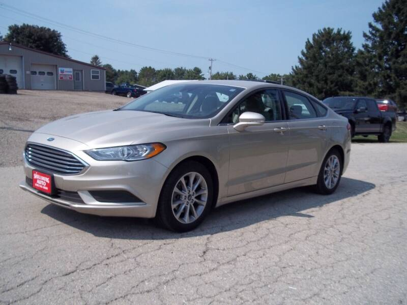 2017 Ford Fusion for sale at SHULLSBURG AUTO in Shullsburg WI