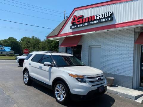 2014 Ford Explorer for sale at AG AUTOGROUP in Vineland NJ