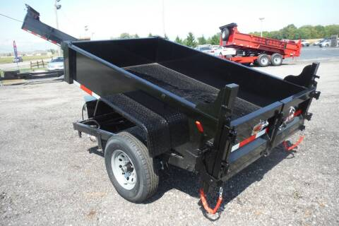 2021 Quality Steel DUMP  5 X 8 for sale at Bryan Auto Depot in Bryan OH