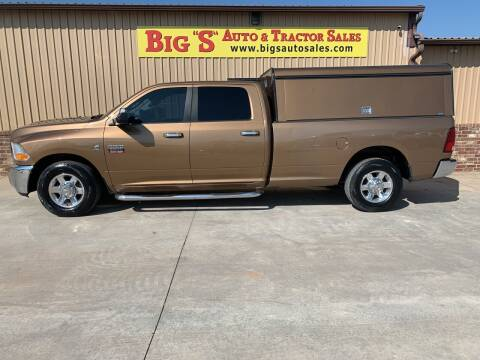 2012 RAM Ram Pickup 3500 for sale at BIG 'S' AUTO & TRACTOR SALES in Blanchard OK