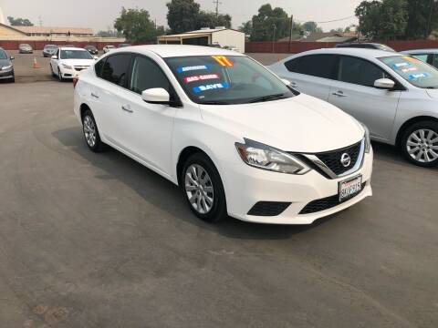 2017 Nissan Sentra for sale at Mega Motors Inc. in Stockton CA