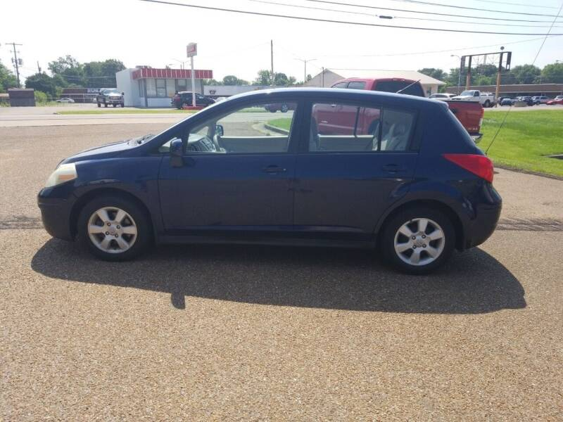 2007 Nissan Versa for sale at Frontline Auto Sales in Martin TN