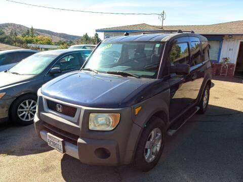2003 Honda Element for sale at Apollo Auto El Monte in El Monte CA