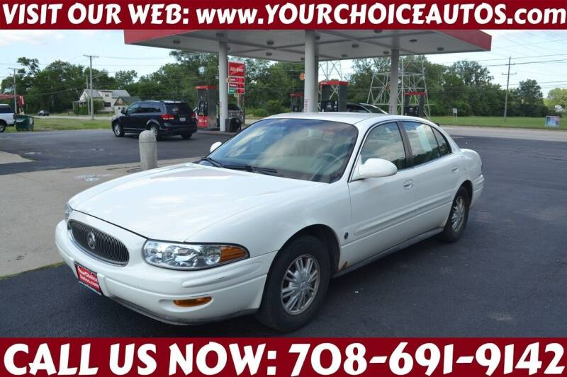2002 Buick LeSabre for sale at Your Choice Autos - Crestwood in Crestwood IL
