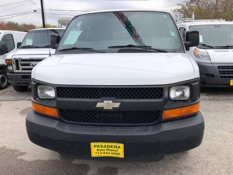 2010 Chevrolet Express Passenger for sale at Pasadena Auto Planet in Houston TX