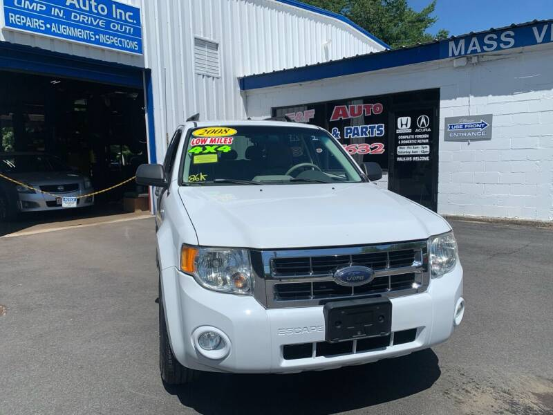 2008 Ford Escape Hybrid for sale at F&F Auto Inc. in West Bridgewater MA