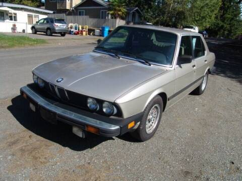 1988 BMW 5 Series for sale at M Motors in Shoreline WA