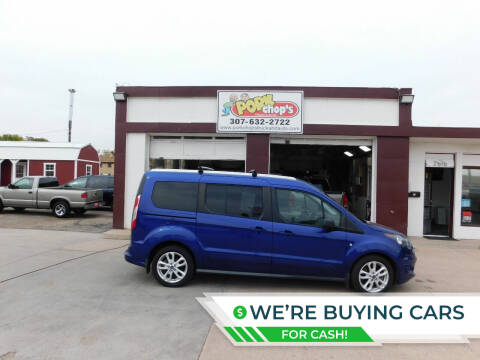 2015 Ford Transit Connect Wagon for sale at Pork Chops Truck and Auto in Cheyenne WY