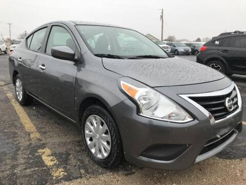 2019 Nissan Versa for sale at INVICTUS MOTOR COMPANY in West Valley City UT