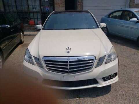 2010 Mercedes-Benz E-Class for sale at Jimmys Auto INC in Washington DC