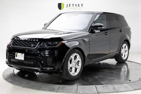 2020 Land Rover Range Rover Sport for sale at Jetset Automotive in Cedar Rapids IA