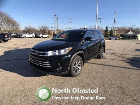 2018 Toyota Highlander for sale at North Olmsted Chrysler Jeep Dodge Ram in North Olmsted OH