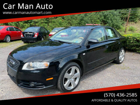 2008 Audi A4 for sale at Car Man Auto in Old Forge PA