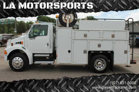 2002 Sterling M7500 Acterra for sale at LA MOTORSPORTS in Windom MN