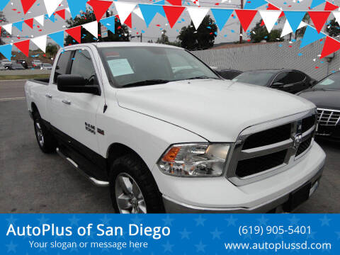 2015 RAM Ram Pickup 1500 for sale at AutoPlus of San Diego in Spring Valley CA