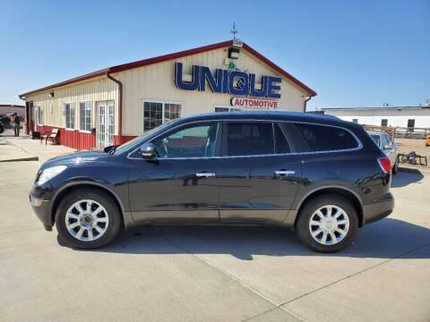 """2012 Buick Enclave for sale at UNIQUE AUTOMOTIVE """"BE UNIQUE"""" in Garden City KS"""