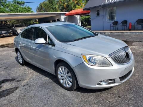 2015 Buick Verano for sale at America Auto Wholesale Inc in Miami FL
