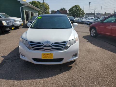 2010 Toyota Venza for sale at Brothers Used Cars Inc in Sioux City IA