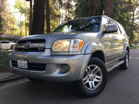 2006 Toyota Sequoia for sale at Valley Coach Co Sales & Lsng in Van Nuys CA