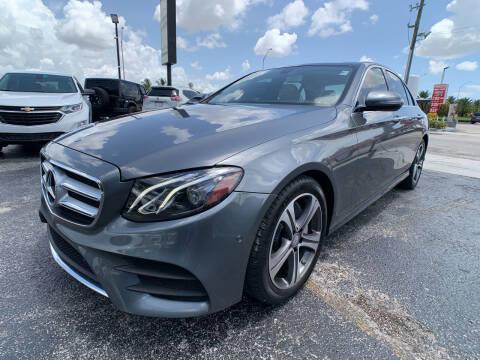 2017 Mercedes-Benz E-Class for sale at Miami Vice Auto Sales in Miami FL